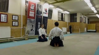 sabaki kata suwariwaza [TUTORIAL] Aikido empty hand basic technique