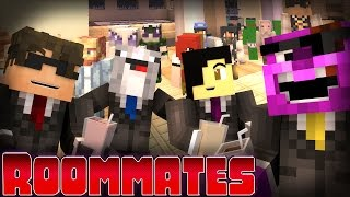 """Minecraft ROOMMATES! - """"THE APOLOGY DINNER"""" S2 #6 (Minecraft Roleplay)"""