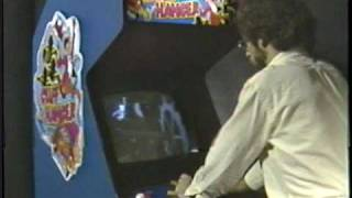 Cliff Hanger laserdisc arcade game promotional video 1983