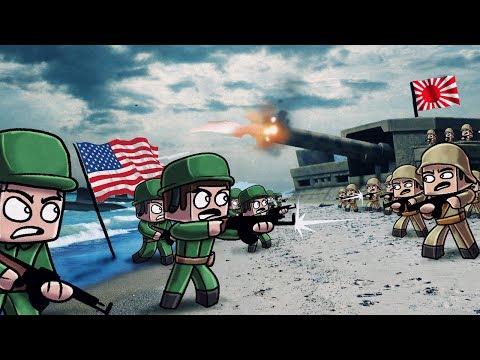 Minecraft | WW2 BASE WARS CHALLENGE! (World War 2 Capture the Flag)