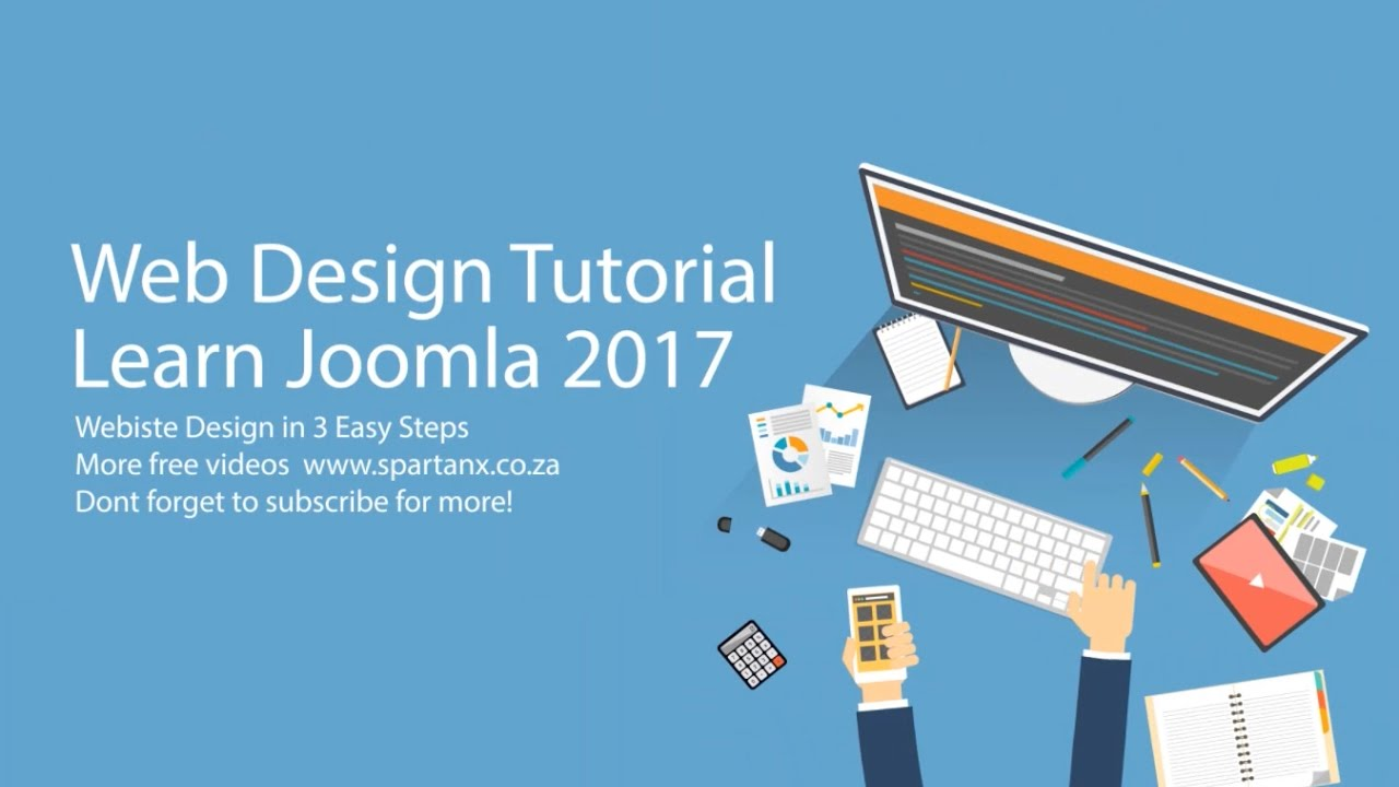 Part 1: How to Build a Joomla 3 Website From Scratch 2017 - YouTube