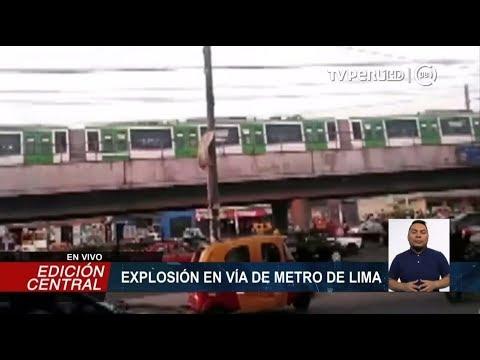 Metro de Lima suspende servicios entre Villa El Salvador y Cabitos por cortocircuito