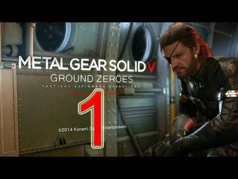 Metal Gear Solid 5 - Walkthrough Part 1 1080p PS4 Gameplay - metal gear solid ground zeroes