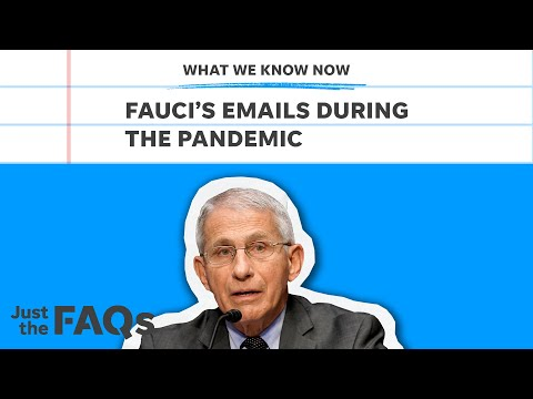 Fauci emails: What thousands of emails tell us about his character | Just the FAQs