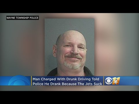 Cindy Scull Mornings - Drunk Driver Says He 'Drank Too Much Because The Jets Suck
