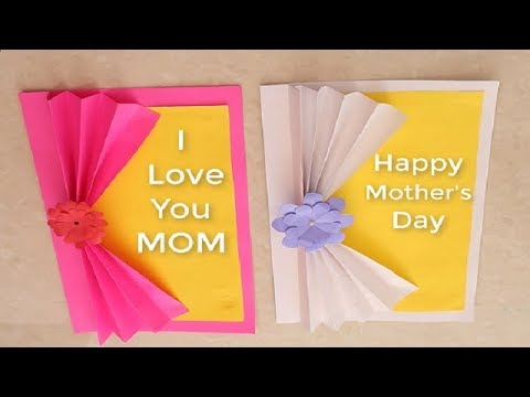 Easy Beautiful Mothers Day Card