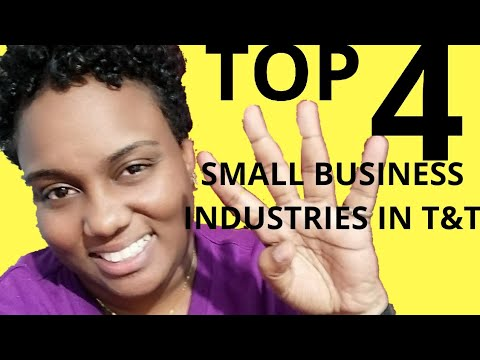 Business Industries: Top 4  in Trinidad and Tobago