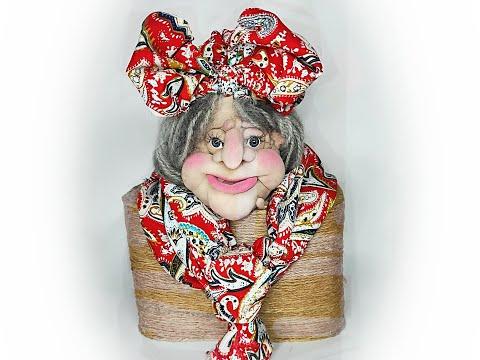 Одежда для Бабы Яги.Кукла из капрона DIY Clothes For Baba Yaga