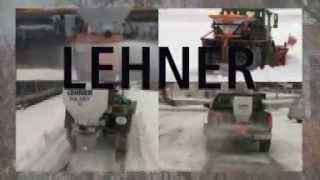 Разбрасыватель Polaro от производителя LIHNER в работе