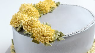 How to get a shiny look with Whipped Cream - Hydrangea flower tutorial