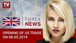 InstaForex tv news: 08.05.2019: Trump confirms raising tariffs on Chinese imports (USD, S&P500, CAD, BRENT)
