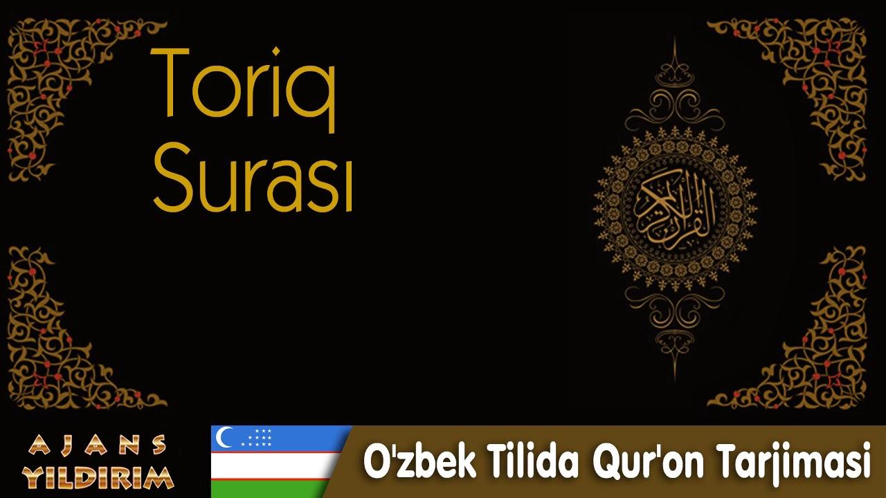 086  - Toriq - O'zbek Tilida Qur'on Tarjimasi MyTub.uz