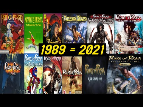 Evolution of Prince of Persia Game🎮(1989-2021)🔥🔥🔥 |