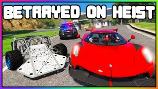 GTA 5 Roleplay - BETRAYED WHILE ROBBING CARS | RedlineRP