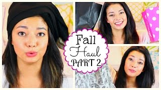 Fall Haul Part 2!! Clothes + Makeup + More! Thumbnail