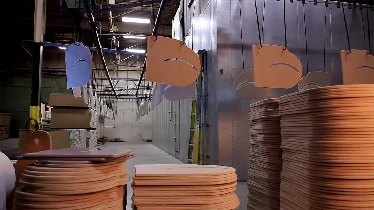 Precise Companies Wood Powder Coating Services Youtube