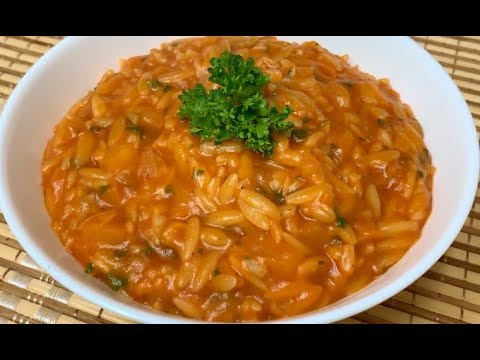 How To Make Italian Orzo Pasta- Simple And Tasty