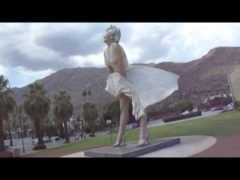 Marilyn Monroe Statue Palm Springs CA