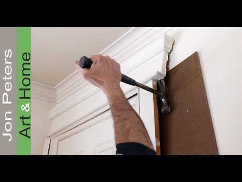 How to Install new Window & Door Casing, Base board Molding