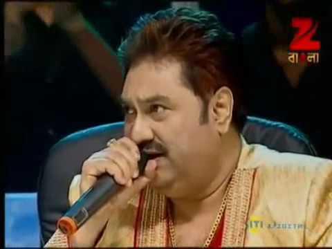 Anuradha Paudwal & Kumar Sanu Live Singing In Sa R