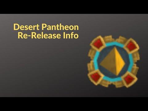 Runescape 3 Desert Pantheon Re-Release Info