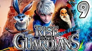 Rise of the Guardians Walkthrough Part 9 (PS3, X360, WiiU, Wii) No Commentary