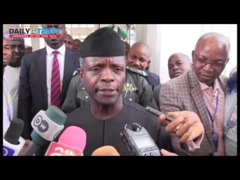 Buhari is satisfied with my work as acting president  - Osinbajo