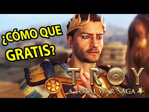 Total War Saga: TROYA | El Juego es GRATIS para TODOS ! (No es clickbait)