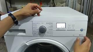 Siemens kurutma makinesi reset