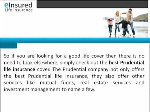 Best Prudential Life Insurance