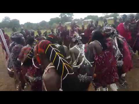 Masai dancing in Morogoro, Tanzania