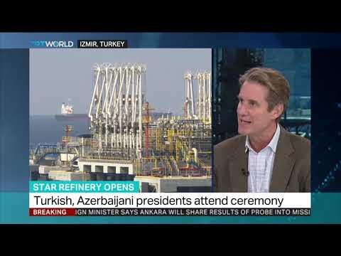 Turkey's $6.3B oil refinery to open in Izmir