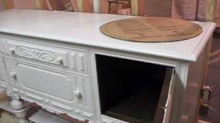 Antique Sideboard Turned Into Bathroom Vanity 1st Vid.wmv