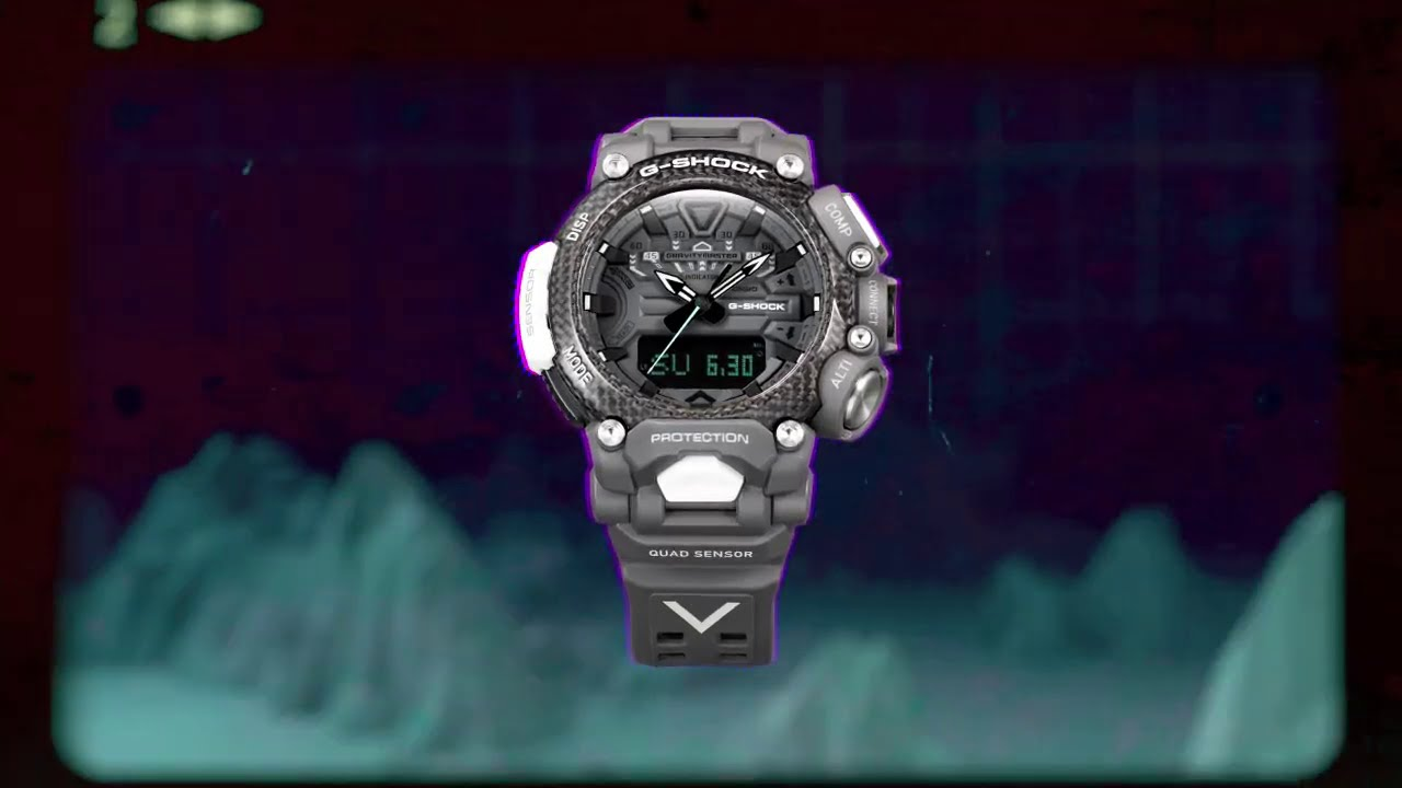 Royal Air Force x G-SHOCK GRAVITYMASTER Collaboration (Product):CASIO G-SHOCK