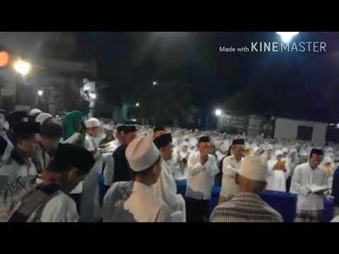 Maulid Al Barzanji - Mahallul qiyam, di Pondok Tremas