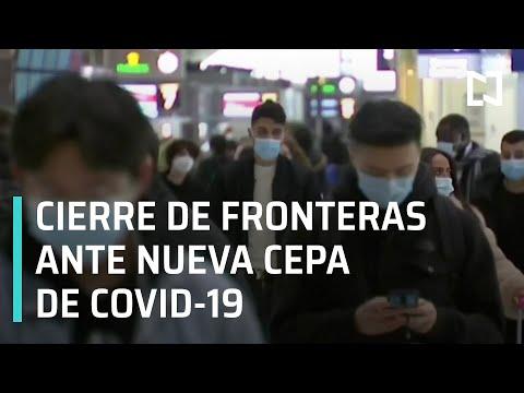 Países del mundo suspenden vuelos desde Reino Unido ante nueva cepa de Covid-19 - En Punto