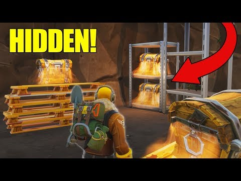 *NEW* Secret Loot Tunnels FOUND In Tilted Towers! Fortnite -