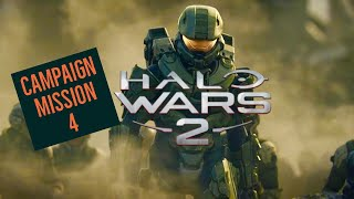 HALO WARS 2! CAMPAIGN WALKTHROUGH MISSION 4! XBOX ONE! LETS PLAY!