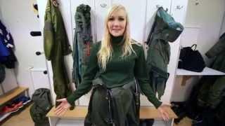 Emma Kimiläinen om sina känslor inför och efter flygningen med Gripen
