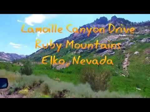 Lamoille Canyon Drive, Elko Nevada