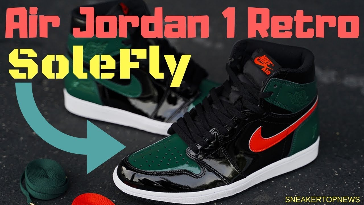 "44771adef787 SoleFly Officially Reveals Upcoming Air Jordan 1 ""MIAMI ART BASEL ..."