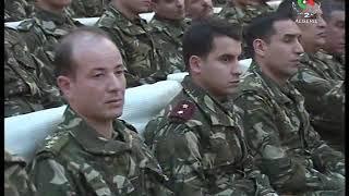 رئيس أركان الجيش الوطني الشعبي بالنيابة يشرف على تنصيب اللواء نور الدين حمبلي قائدا للناحية العسكرية
