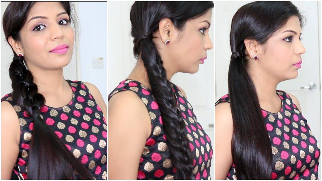 3 Quick and Easy Heatless Hairstyles