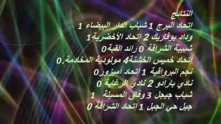 الجزائر - نتائج القسم الثاني -هواة - كرة القدم - الجولة ال25