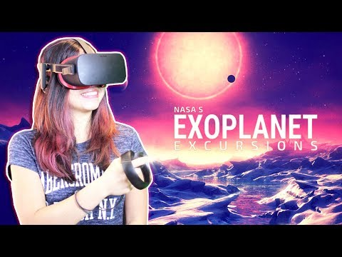 NEW NASA VR SPACE EXPERIENCE ABOUT HABITABLE EXOPLANETS! – NASA'S Exoplanet Excursions (Oculus Rift)