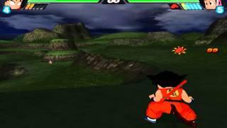 Kid Goku vs Chichi