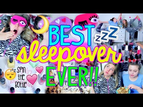 How To Have The Best Sleepover Ever Diy Craft Treats Fun Things To Do Youtube