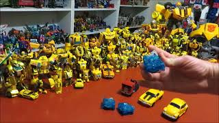 Transformers Bumblebee Movie Energon Igniter toy gimmick demonstration