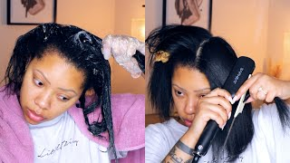 Eap Heat Flat Iron | Lush Hair Products Demo & Review