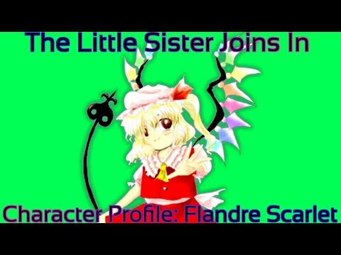 Touhou - Character Profile Flandre Scarlet (The Little Sister Joins In) [Merry Christmas Everyone!]